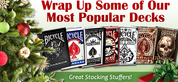 Bicycle Cards Make Great Gifts!
