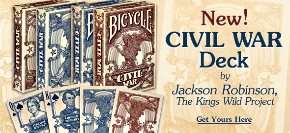 New! Civil War Deck by Jaskson Robinson