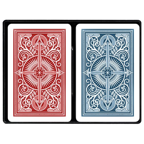 Kem® Arrow Wide Jumbo - Red and Blue