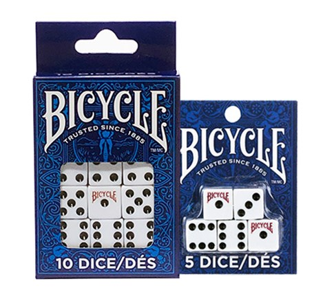 Bicycle 5 Dice Set