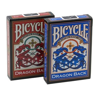 Bicycle Dragon Back - Blue/Red