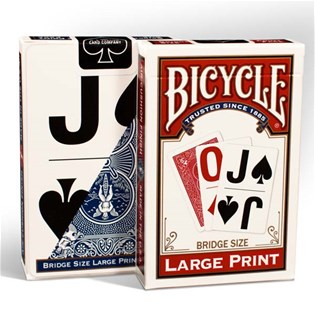 Bicycle® Large Print